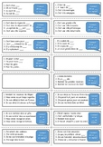 French general revision flashcards - Region and Holiday topic.
