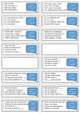 French general revision flashcards - Town and School topic