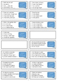 French general revision flashcards - basics and food topic
