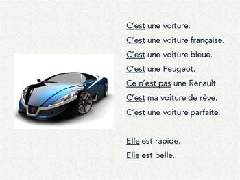 French grammar, c'est vs. il est