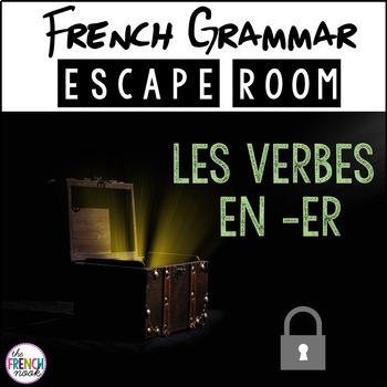 French grammar escape room er verbs