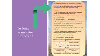 French grammar imperative, l'impératif full lesson