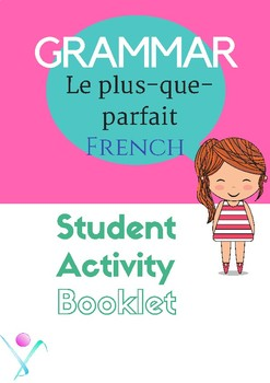 French grammar past perfect activity booklet
