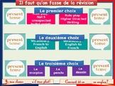 French grammar revision program - Present tense