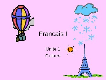French greetings and culture with names