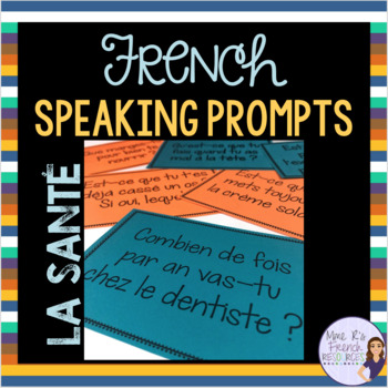 French speaking activity HEALTH VOCABULARY LA SANTÉ
