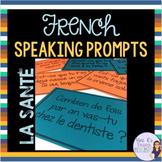 French speaking activity HEALTH VOCABULARY LA SANTÉ