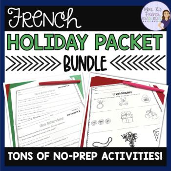 French holiday bundle / Pâques, Noël, St Valentin, St Patrick, l'action de grâce