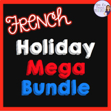 French holiday speaking and writing activities bundle