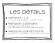 French homophones français ( à / as / a )