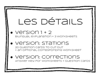 French homophones français ( ou / où )