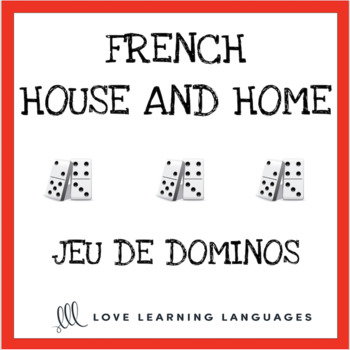 French house and home dominoes game LA MAISON