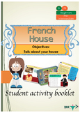 French house, ma maison booklet for beginners