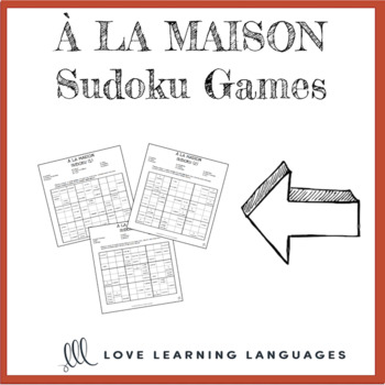 French house sudoku games - À la maison