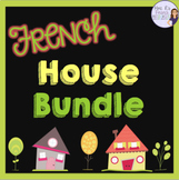 French house vocabulary speaking and writing activities + games BUNDLED