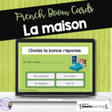 French house vocabulary task cards - Boom cards