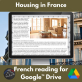 French housing - a cultural activity unit for Google Drive