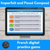 French imparfait and passé composé review game