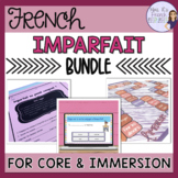 French imparfait unit bundle / l'unité de l'imparfait français