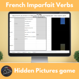 French imparfait verbs - Hidden pictures game