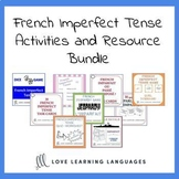 French imperfect tense bundle - 10 ressources pour enseign
