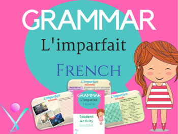 French imperfect tense lesson and worksheet NO PREP