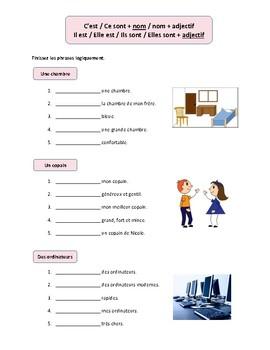 French impersonal expressions C'est vs Il est