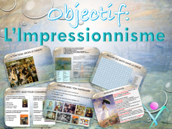 French impressionism and paintings PPT