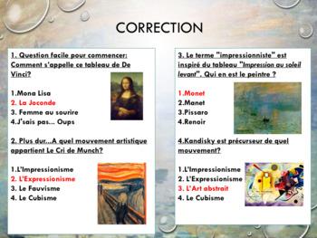 French impressionism, impressionnisme full lesson