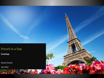 French in a day
