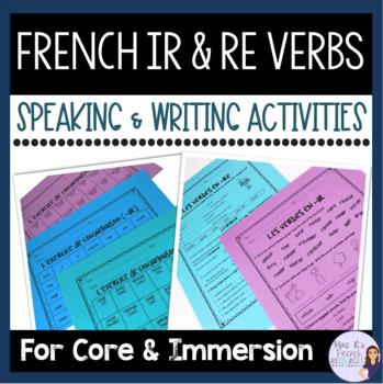 French -ir and -re verbs LES VERBES EN -IR ET -RE