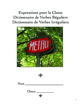 French irregular verb dictionary