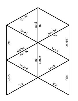 French irregular verb past participle puzzle
