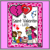 French - la Saint Valentin - LOTO - Valentine's Day BINGO
