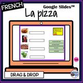 French-la pizza-matching & vocabulary activities-Google Slides™-DIGITAL