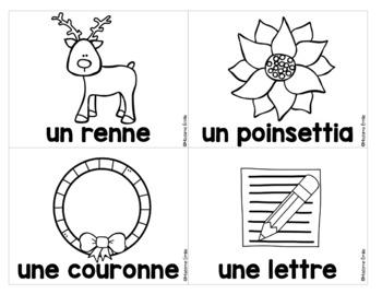 French labels Christmas/ Noël - Mur de mots