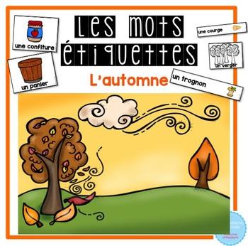 French labels Harvest-Fall /L'automne et les récoltes - Mu