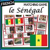 French – le Sénégal – un jeu des paires – Senegal matching game