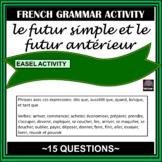 French – le futur simple et le futur antérieur #2 - worksheet
