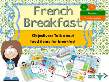 French breakfast, petit déjeuner full lesson for beginners
