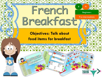 French breakfast, petit déjeuner, PPT for beginners