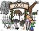 French – le zoo – les animaux au zoo et les activités