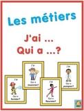 French les métiers  J'ai ... Qui a ...? game