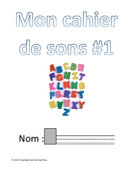 French letter sounds/clusters workbook #1