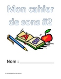 French letter sounds/clusters workbook #2