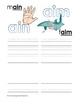 French letter sounds/clusters workbook #3