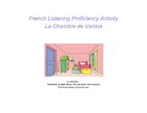 French listening activity - La chambre de Vanina