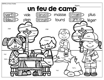 French math around the room: la masse et la capacité