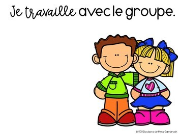 French math centers posters powerpoint editable I les affiches mathématiques