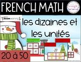 French boom card - math - les dizaines et les unités boom cards